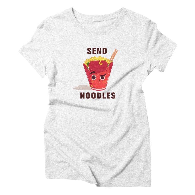 Send Noodles Women's Triblend T-shirt by sraderezo's Artist Shop