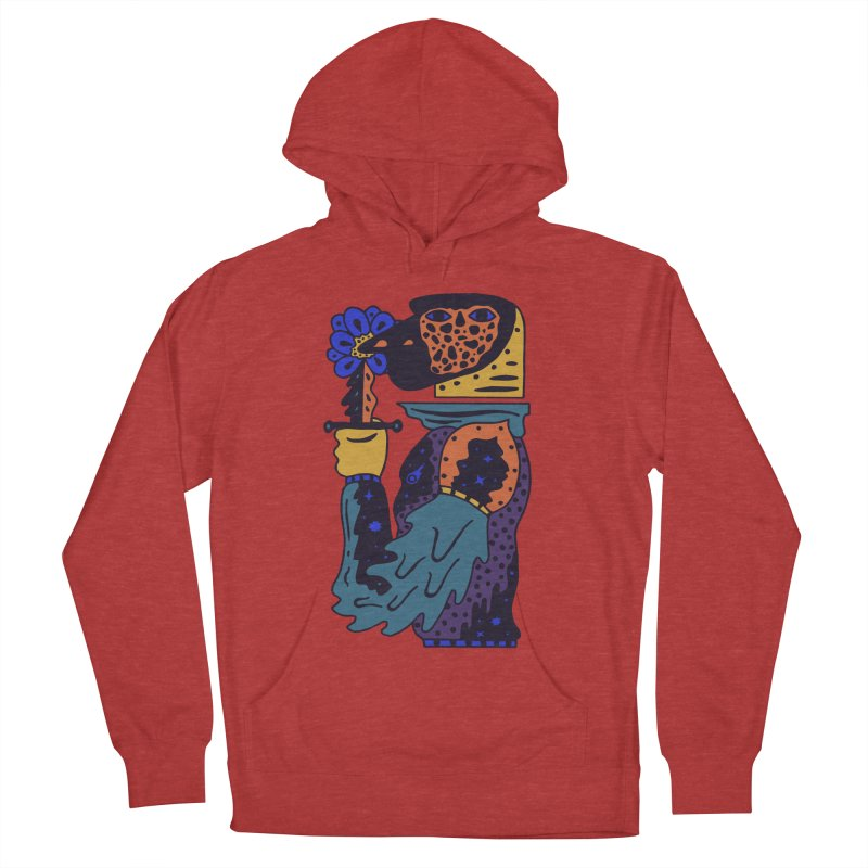 Wanderer at Night Men's French Terry Pullover Hoody by Sretan Bor