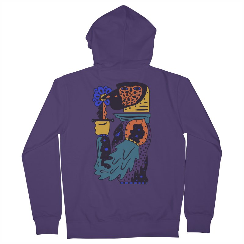 Wanderer at Night Women's French Terry Zip-Up Hoody by Sretan Bor
