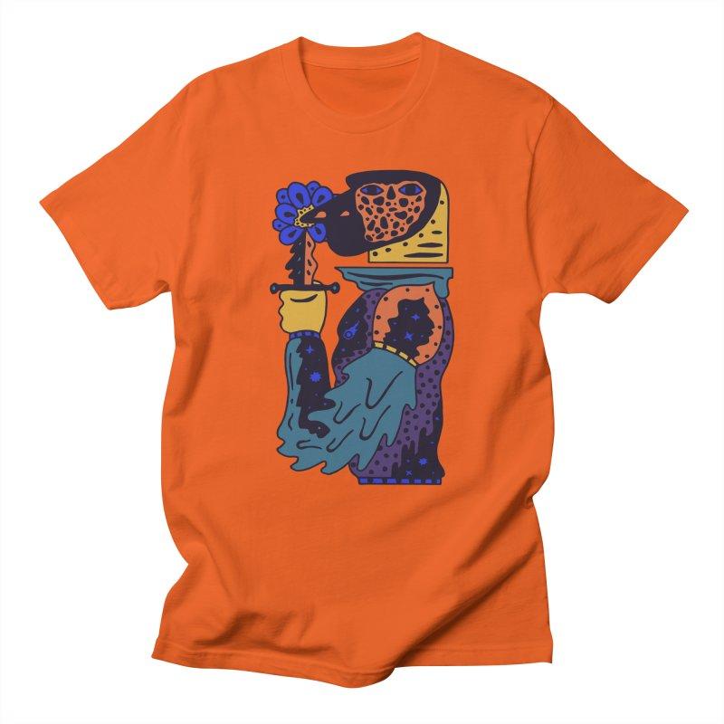Wanderer at Night Men's Regular T-Shirt by Sretan Bor