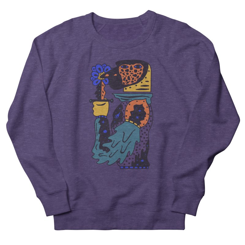 Wanderer at Night Men's French Terry Sweatshirt by Sretan Bor