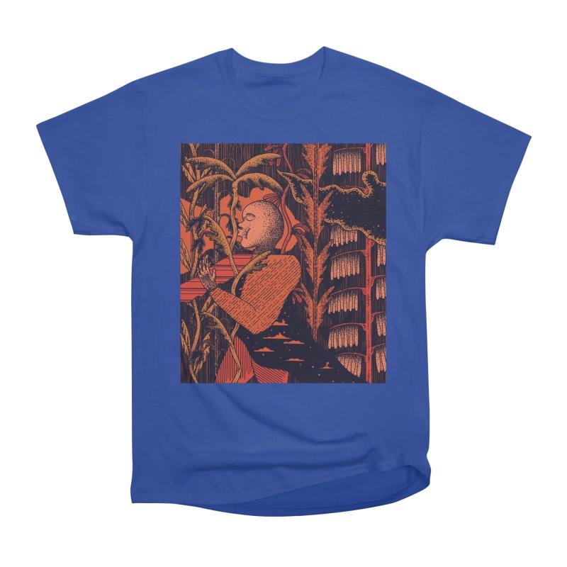 Night Kiss Women's Heavyweight Unisex T-Shirt by Sretan Bor