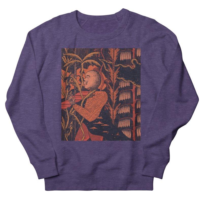 Night Kiss Men's French Terry Sweatshirt by Sretan Bor