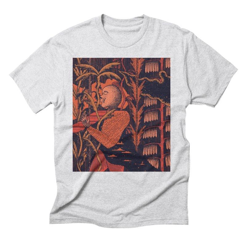 Night Kiss Men's Triblend T-Shirt by Sretan Bor