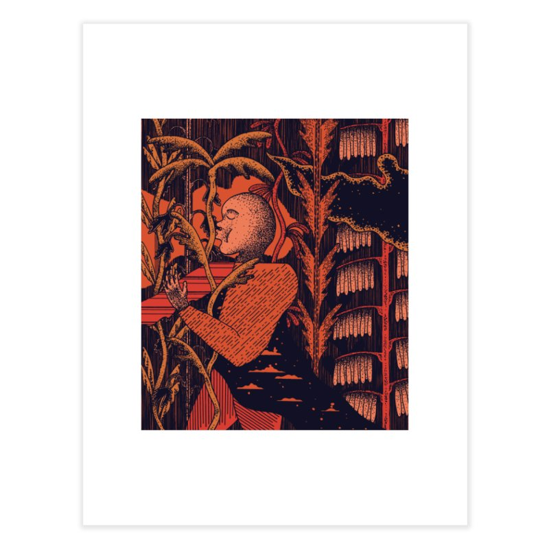 Night Kiss Home Fine Art Print by Sretan Bor