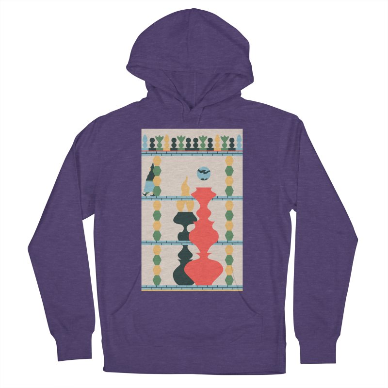 Keeper of the Light Men's French Terry Pullover Hoody by Sretan Bor