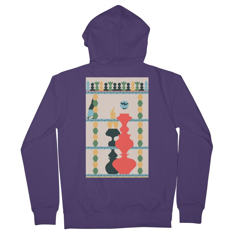 Keeper of the Light Women's French Terry Zip-Up Hoody by Sretan Bor