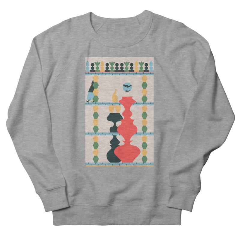 Keeper of the Light Men's French Terry Sweatshirt by Sretan Bor