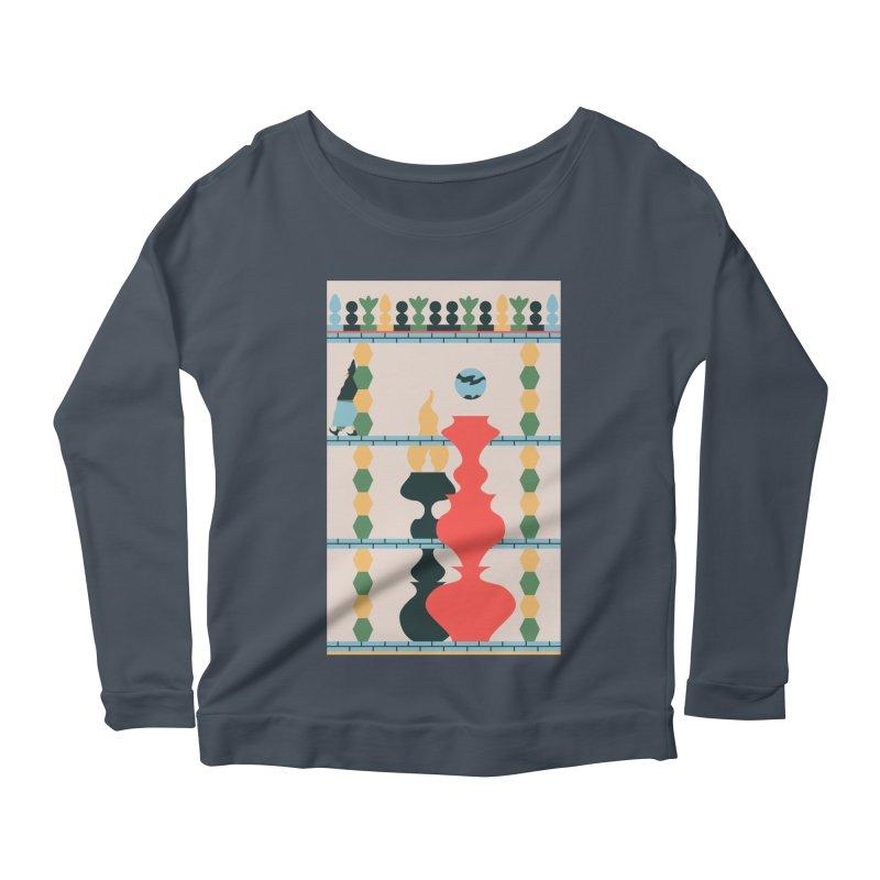 Keeper of the Light Women's Scoop Neck Longsleeve T-Shirt by Sretan Bor