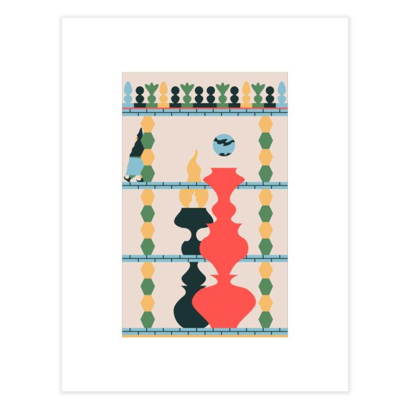 Keeper of the Light Home Fine Art Print by Sretan Bor
