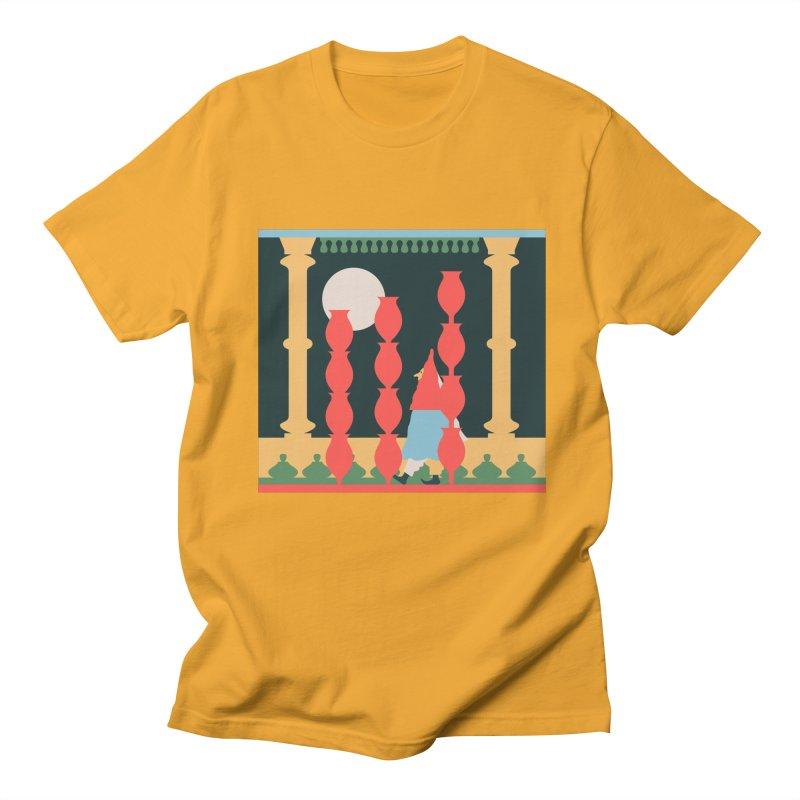 Night Music Men's Regular T-Shirt by Sretan Bor