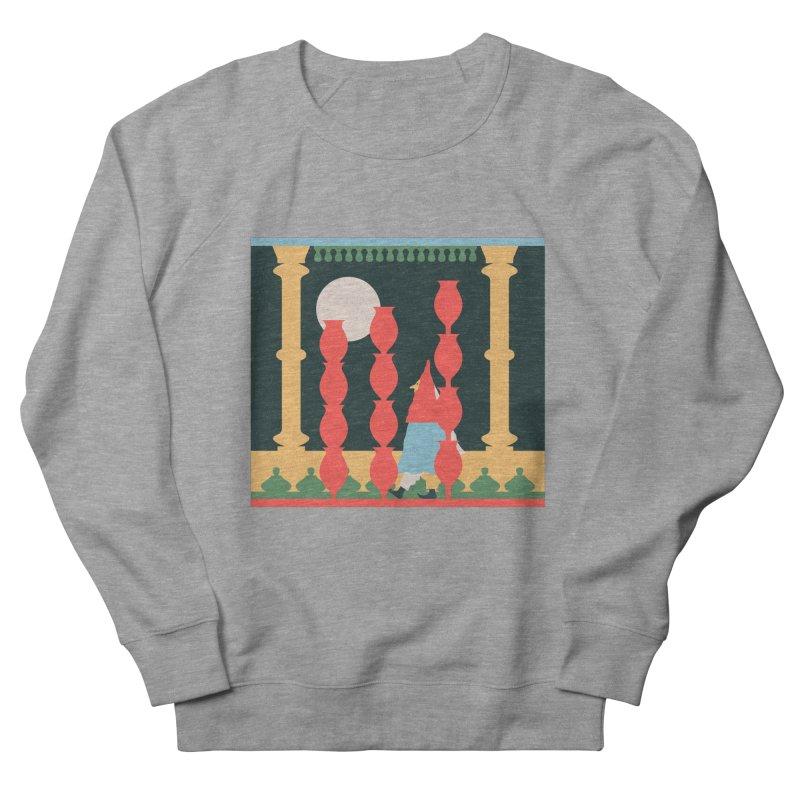 Night Music Men's French Terry Sweatshirt by Sretan Bor