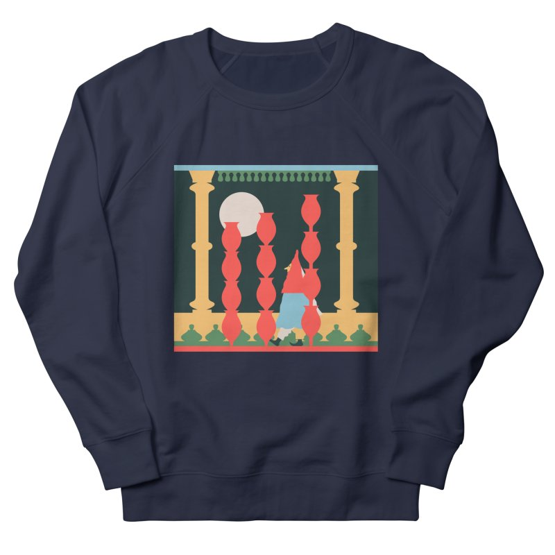 Night Music Men's French Terry Sweatshirt by Sretan Bor