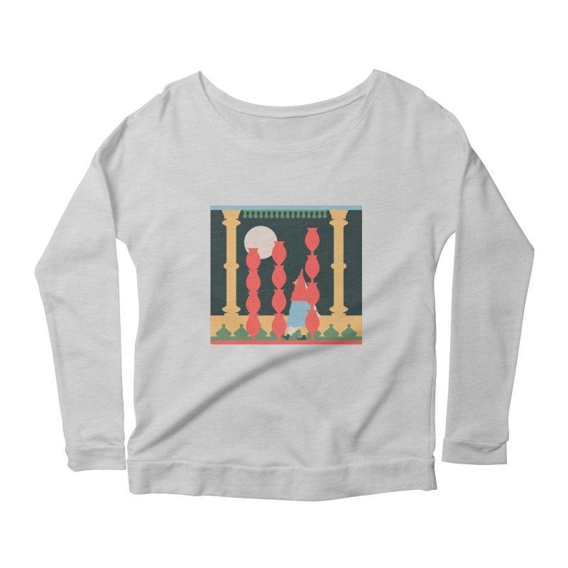 Night Music Women's Scoop Neck Longsleeve T-Shirt by Sretan Bor