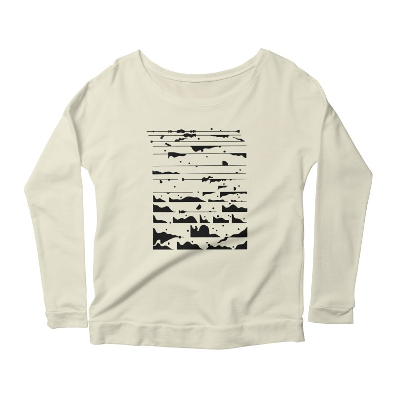 Other Sounds Women's Scoop Neck Longsleeve T-Shirt by Sretan Bor