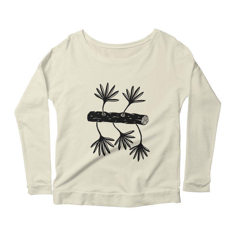 Still Alive Women's Scoop Neck Longsleeve T-Shirt by Sretan Bor