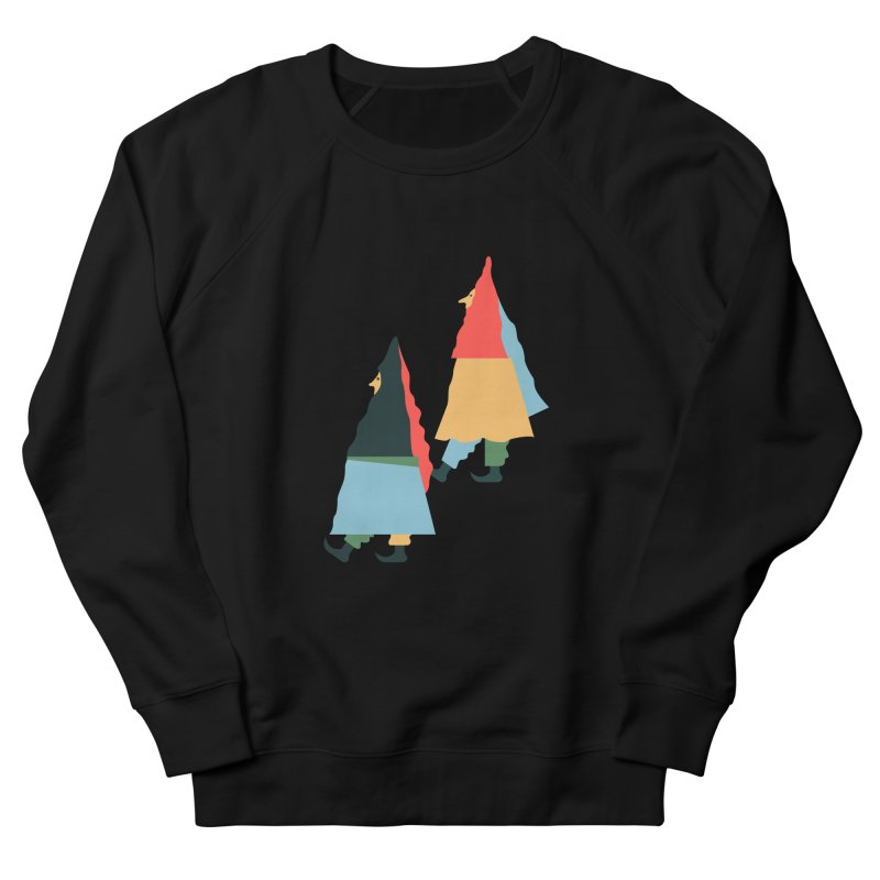 Buddies Men's French Terry Sweatshirt by Sretan Bor
