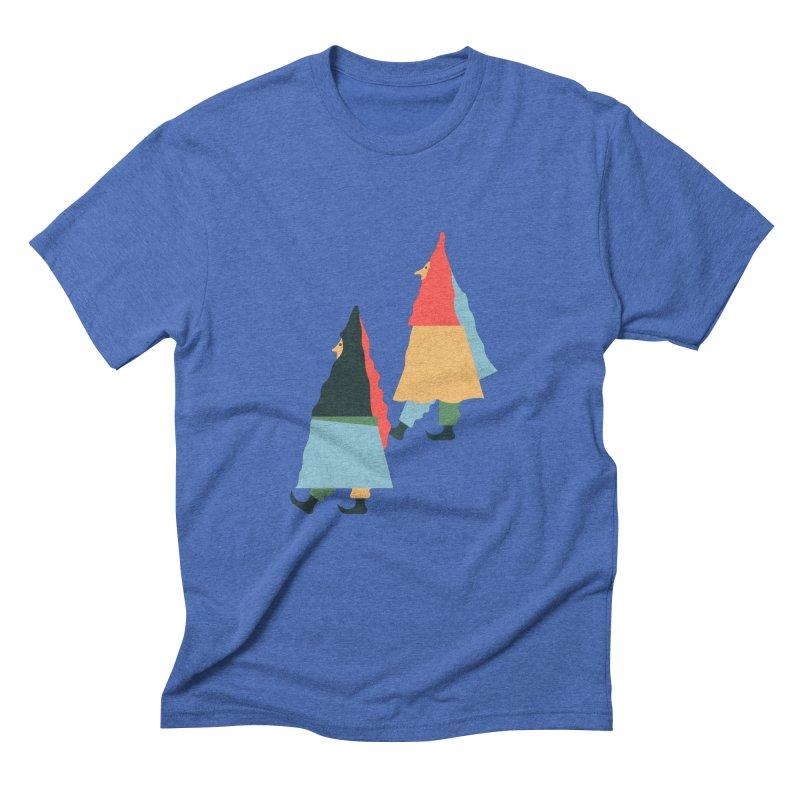 Buddies Men's Triblend T-Shirt by Sretan Bor