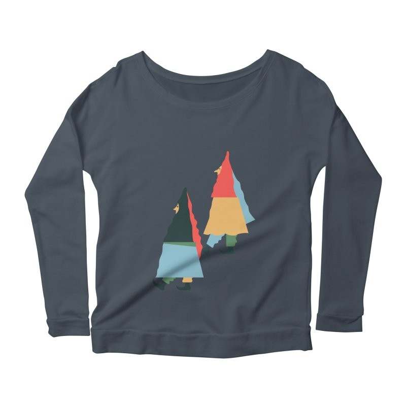 Buddies Women's Scoop Neck Longsleeve T-Shirt by Sretan Bor