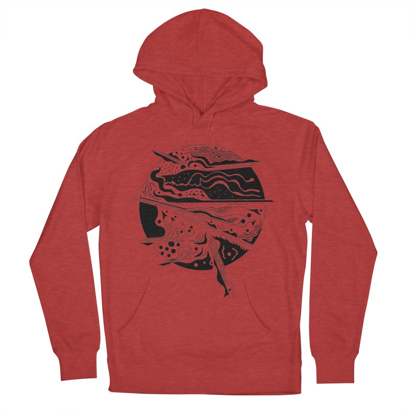 Winds Men's French Terry Pullover Hoody by Sretan Bor