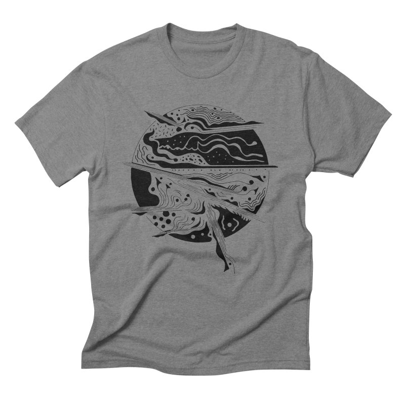 Winds Men's Triblend T-Shirt by Sretan Bor