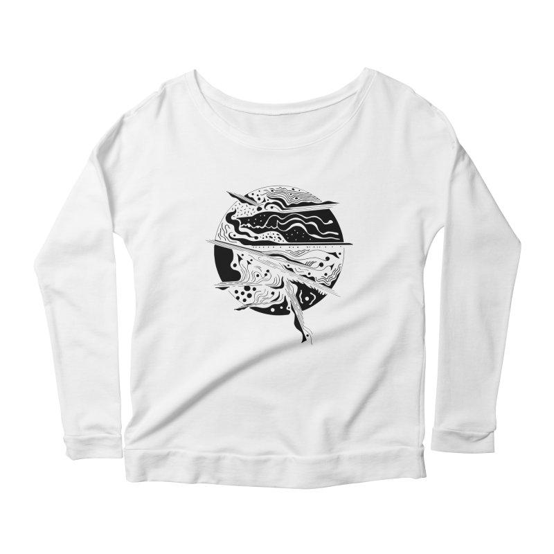 Winds Women's Scoop Neck Longsleeve T-Shirt by Sretan Bor