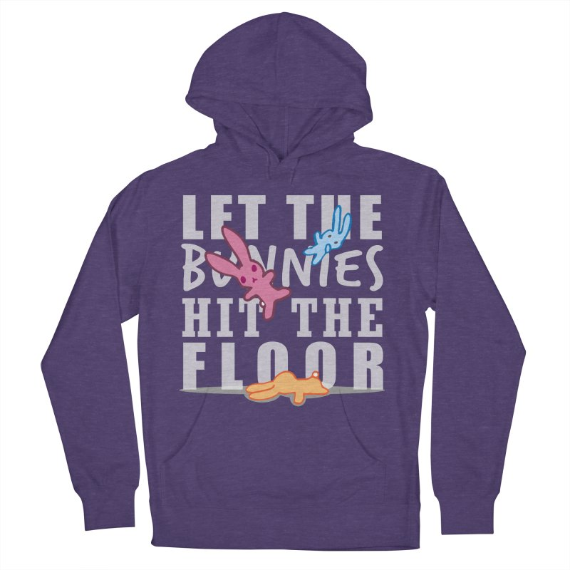 let the bunnies hit the floor Men's Pullover Hoody by shutter shades facemask