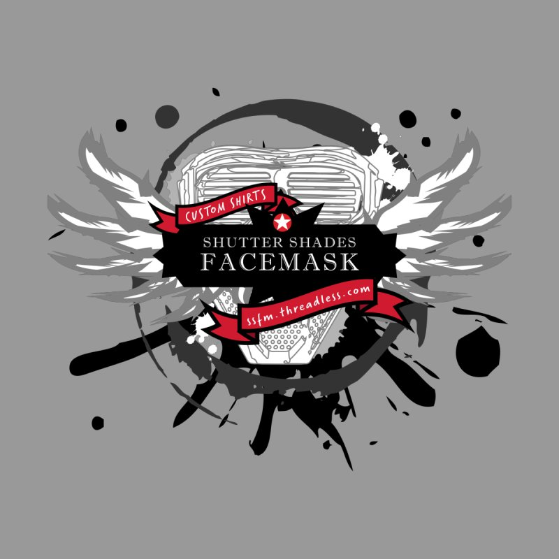 SS-FM Crest by shutter shades facemask