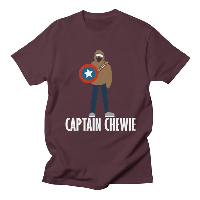 Captain Chewie Men's T-shirt by shutter shades facemask