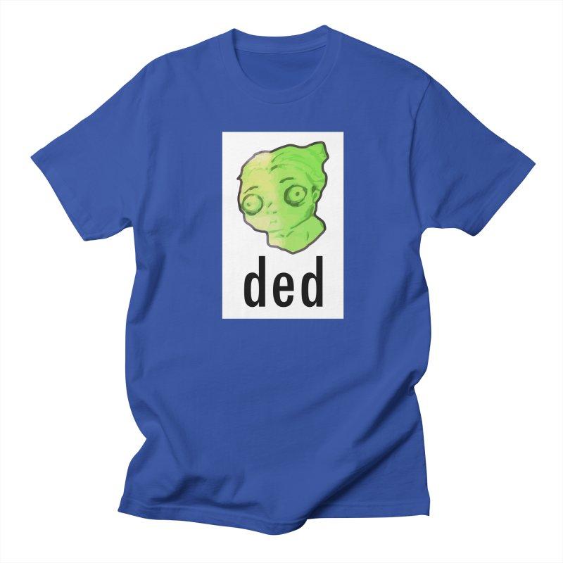 ded Men's T-shirt by shutter shades facemask