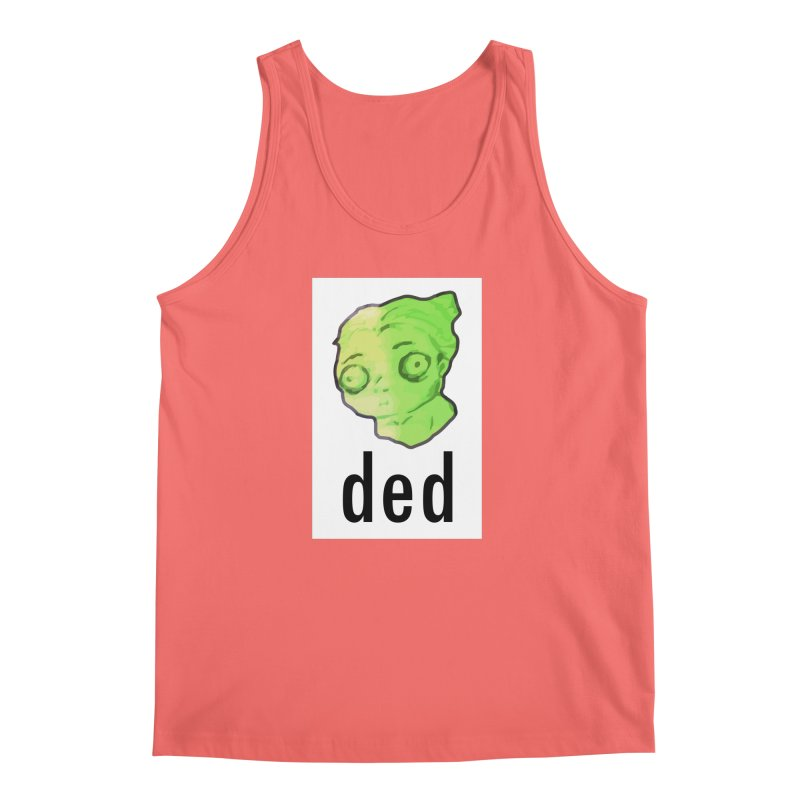 ded Men's Tank by shutter shades facemask
