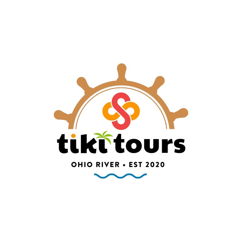 SS Tiki Tours - Half Wheel Women's Zip-Up Hoody by SS Tiki Tours