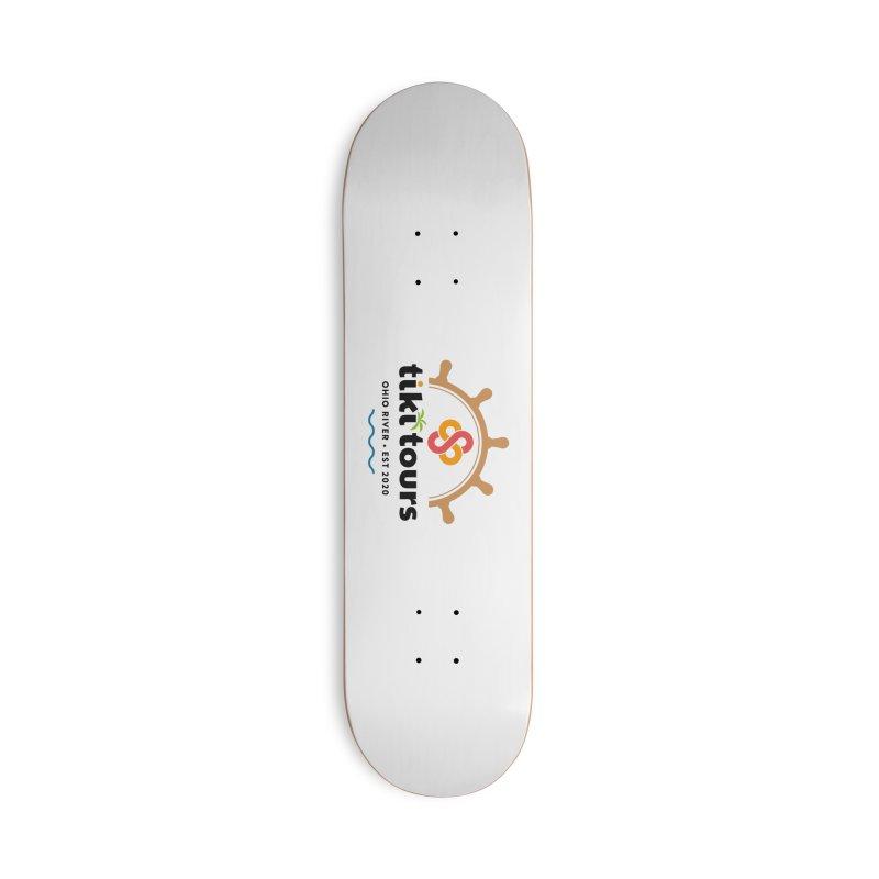 SS Tiki Tours - Half Wheel Accessories Skateboard by SS Tiki Tours