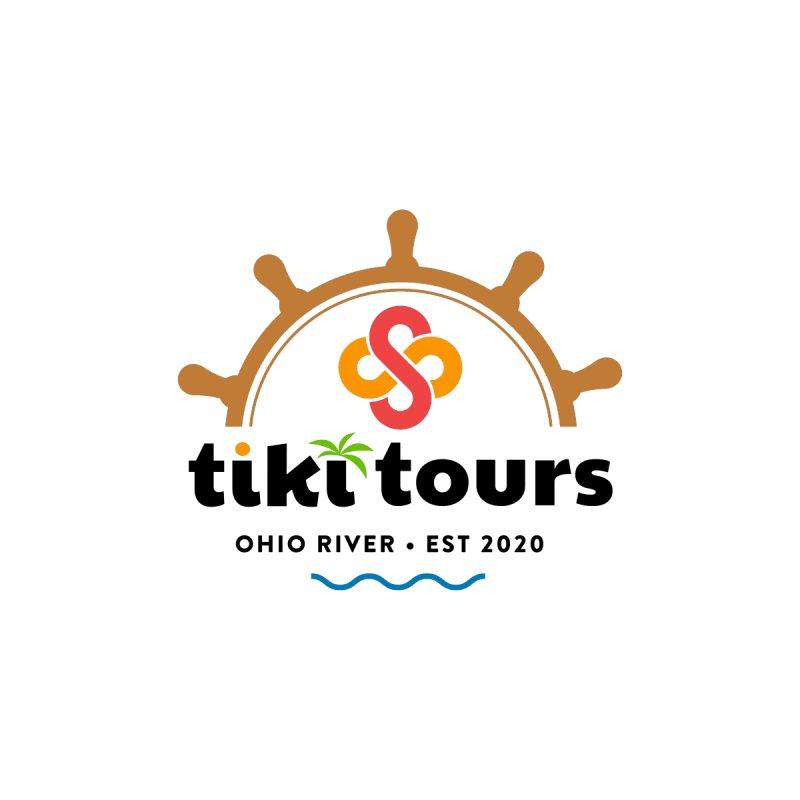 SS Tiki Tours - Half Wheel Men's Tank by SS Tiki Tours