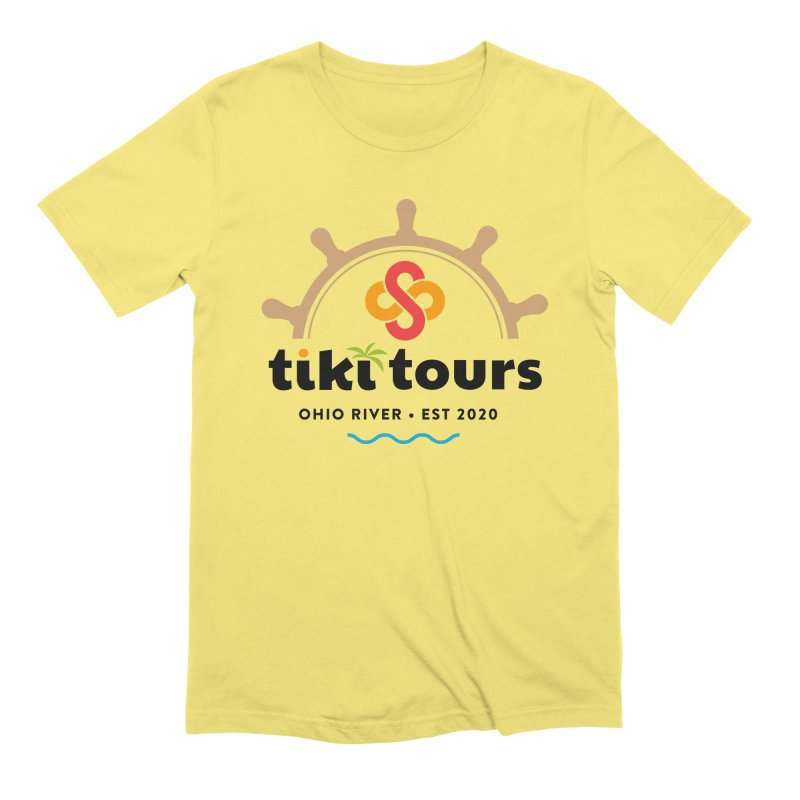 SS Tiki Tours - Half Wheel Men's T-Shirt by SS Tiki Tours