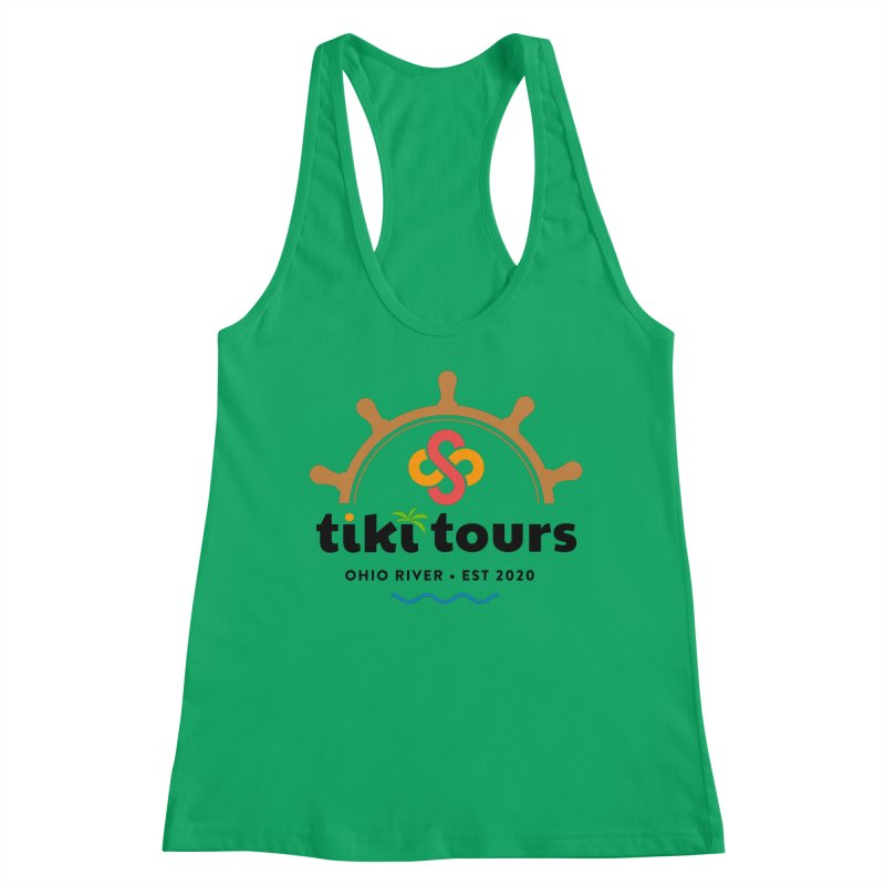 SS Tiki Tours - Half Wheel Women's Tank by SS Tiki Tours