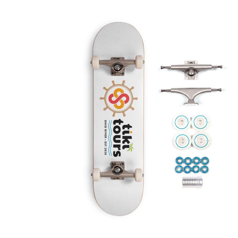 SS Tiki Tours - Full Wheel Accessories Skateboard by SS Tiki Tours