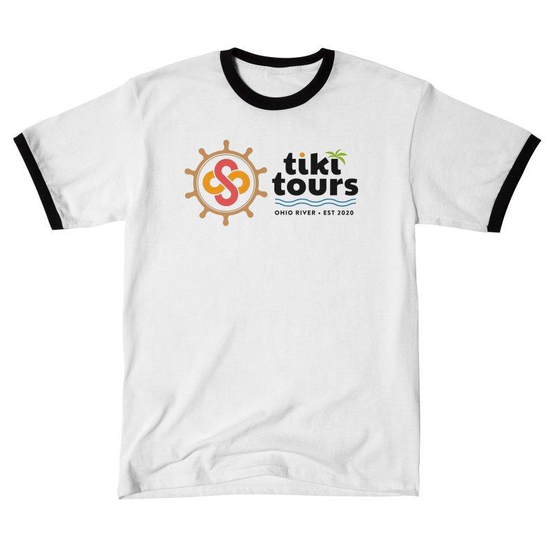 SS Tiki Tours - Full Wheel Men's T-Shirt by SS Tiki Tours