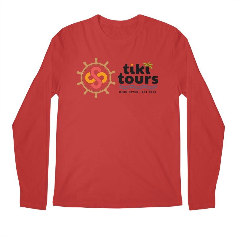SS Tiki Tours - Full Wheel Men's Longsleeve T-Shirt by SS Tiki Tours