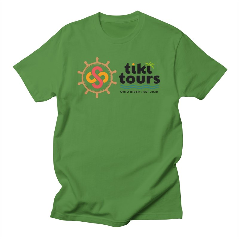 SS Tiki Tours - Full Wheel Men's T-Shirt by SS Tiki Tours