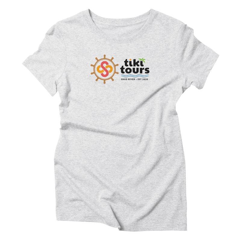 SS Tiki Tours - Full Wheel Women's T-Shirt by SS Tiki Tours