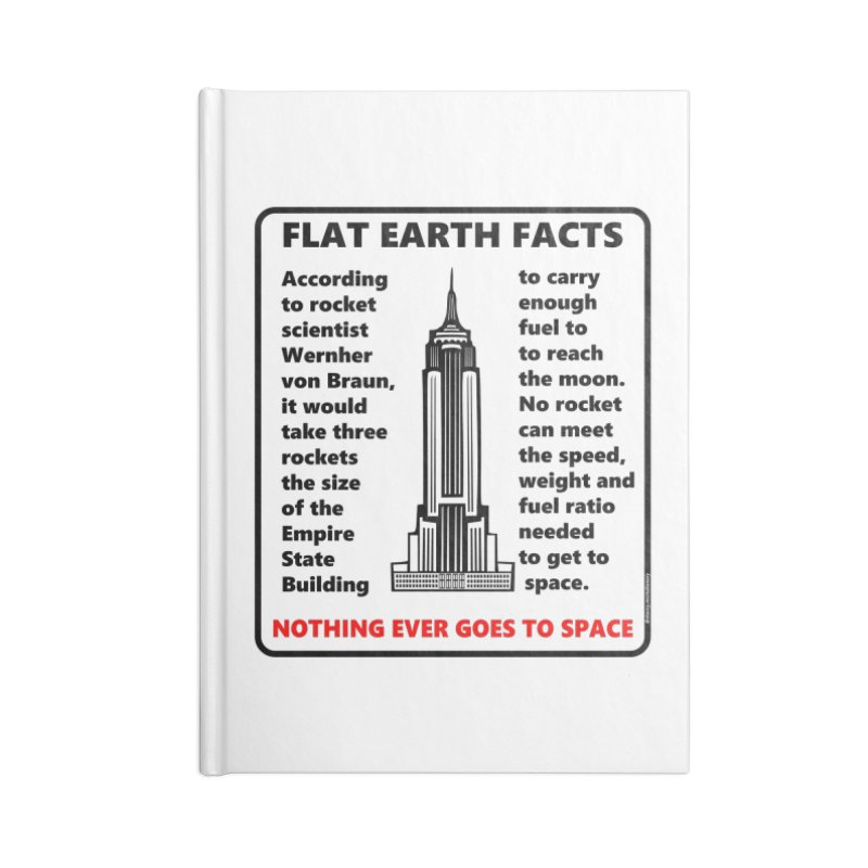 Empire State Building Accessories Blank Journal Notebook by Flat Earth Shop