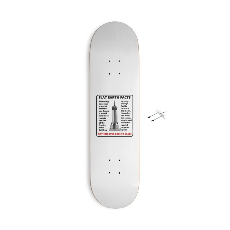 Empire State Building Accessories With Hanging Hardware Skateboard by Flat Earth Shop