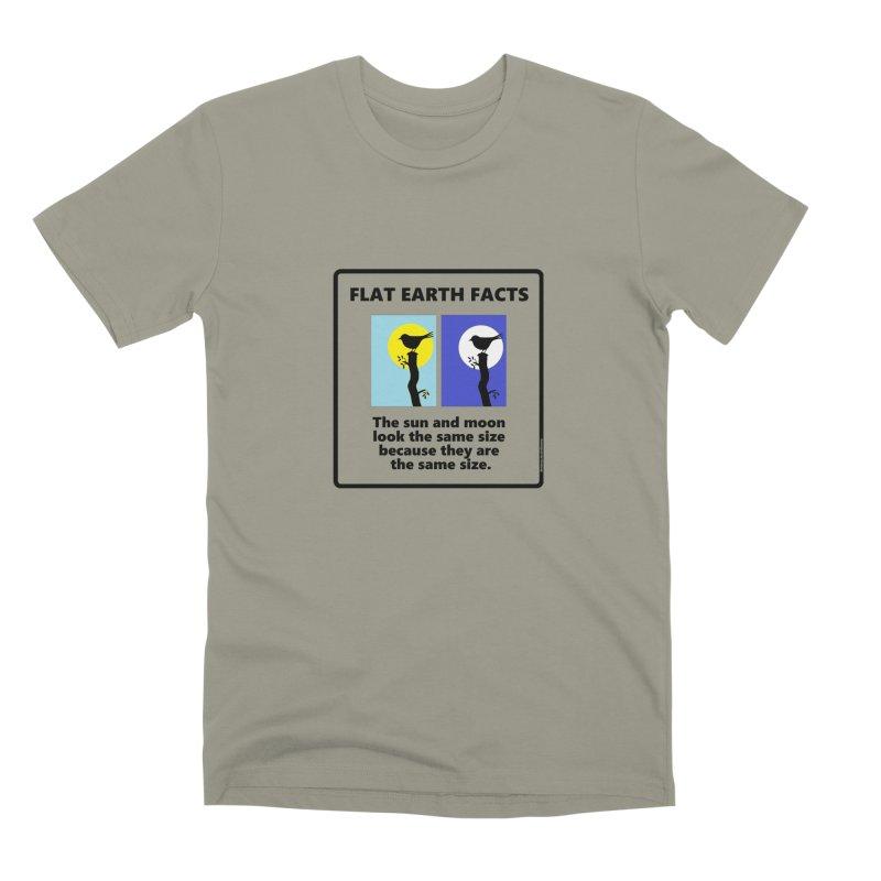 Sun and Moon Men's Premium T-Shirt by Flat Earth Shop