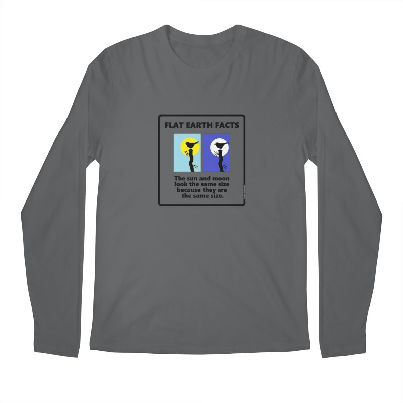 Sun and Moon Men's Regular Longsleeve T-Shirt by Flat Earth Shop