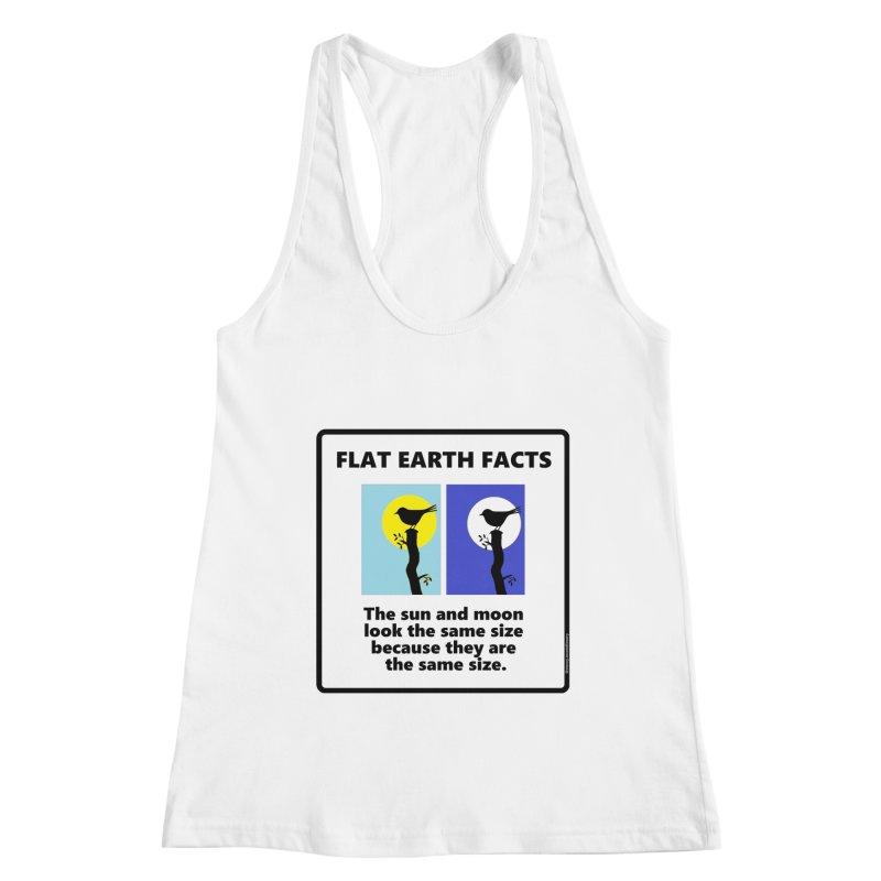 Sun and Moon Women's Racerback Tank by Flat Earth Shop