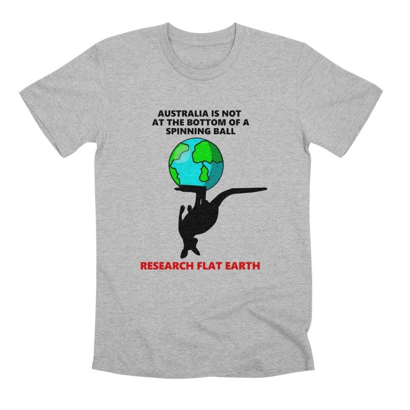 Australia Men's Premium T-Shirt by Flat Earth Shop