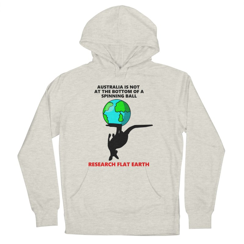 Australia Men's French Terry Pullover Hoody by Flat Earth Shop