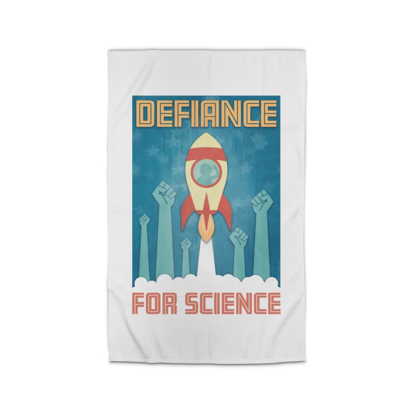 Defiance for Science Home Rug by Stacy Kendra | Artist Shop