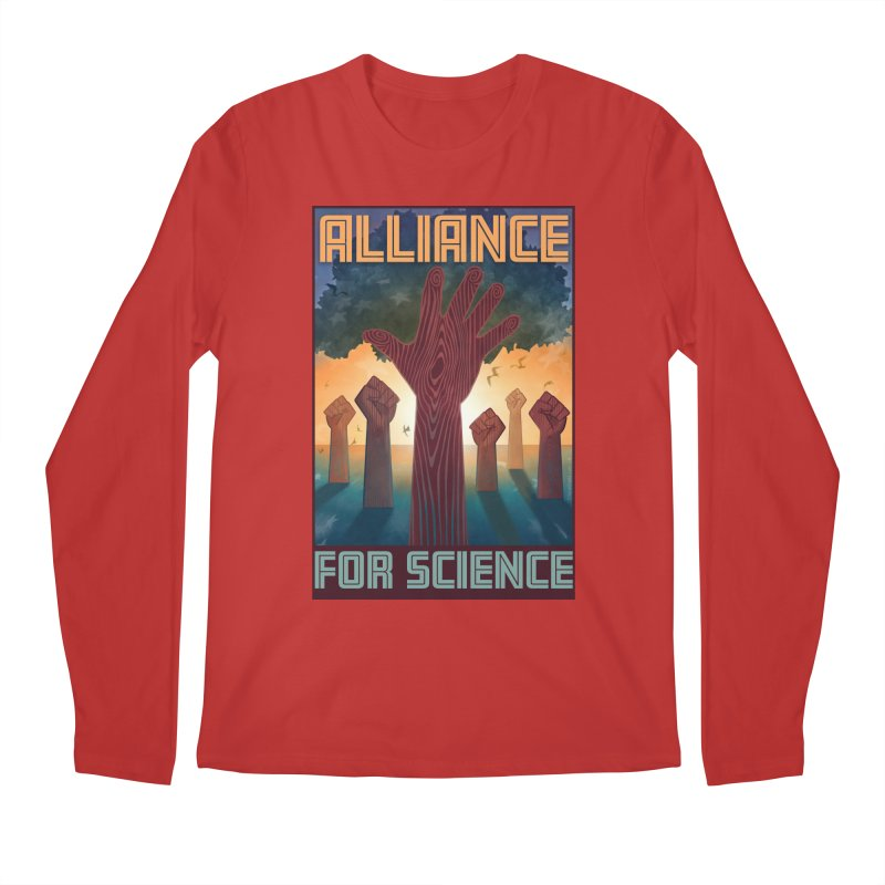 Alliance for Science Men's Longsleeve T-Shirt by Stacy Kendra | Artist Shop